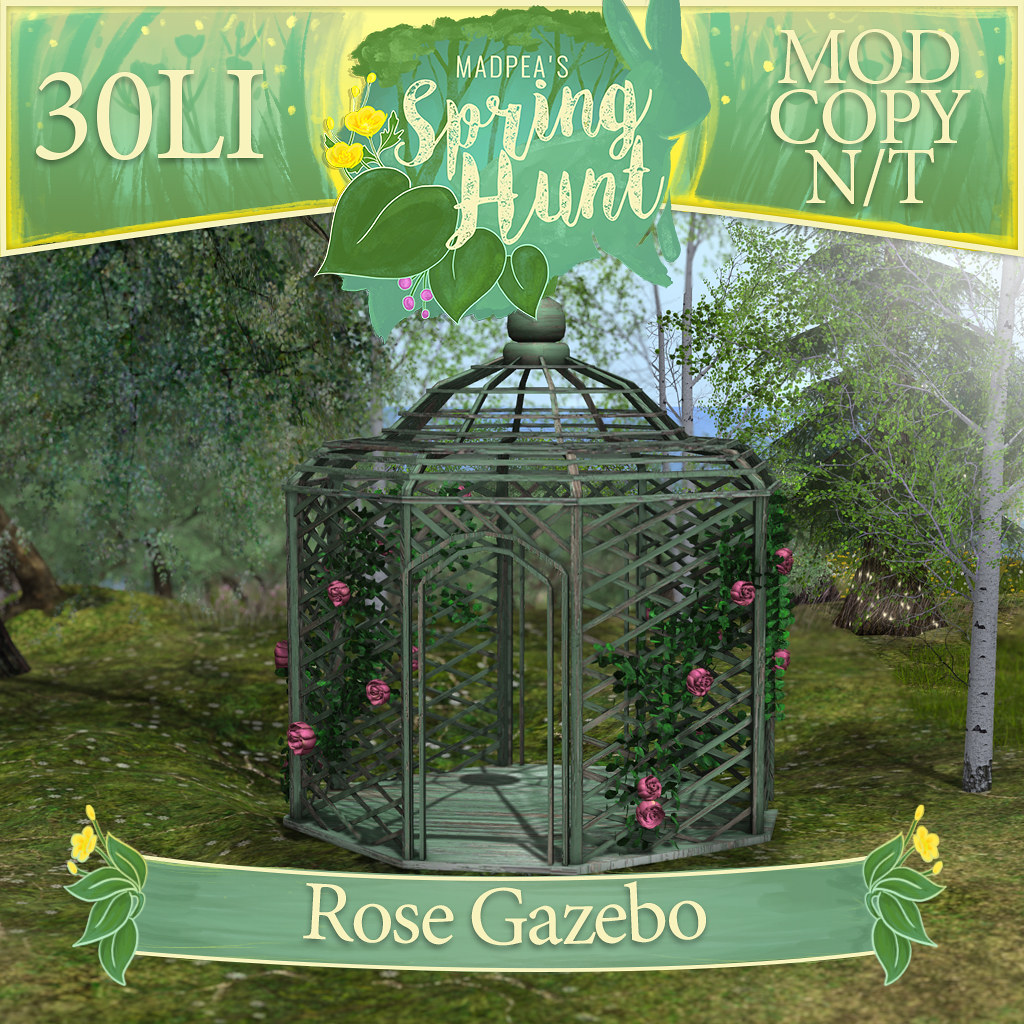 MadPea Spring Hunt –  MadPea Rose Gazebo!