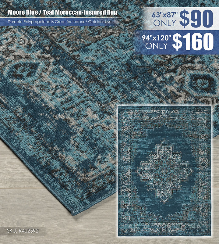 Moore Blue Teal Moroccan Inspired Rug_R402592-1