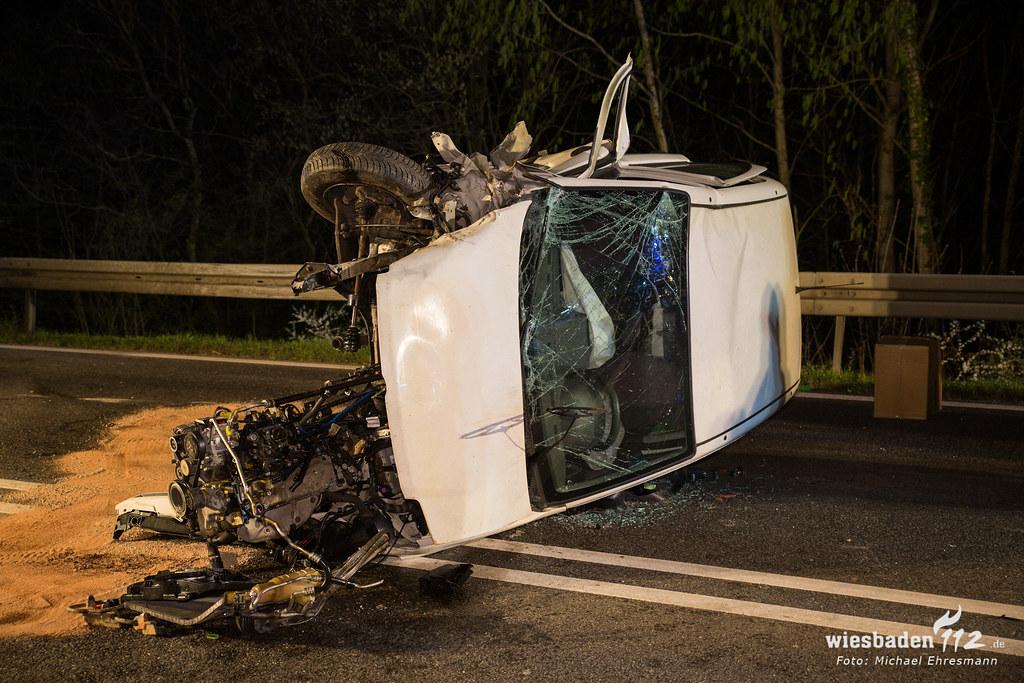 Verkehrsunfall B260 Schlangenbad 01.04.19
