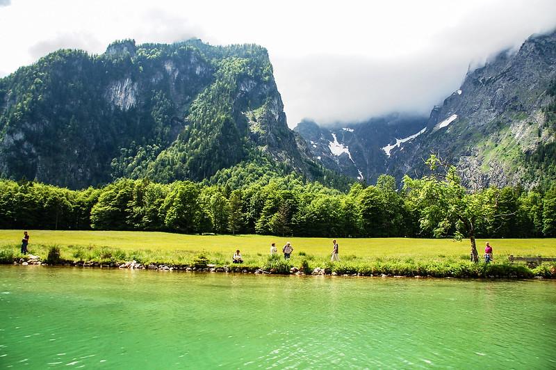 國王湖湖岸