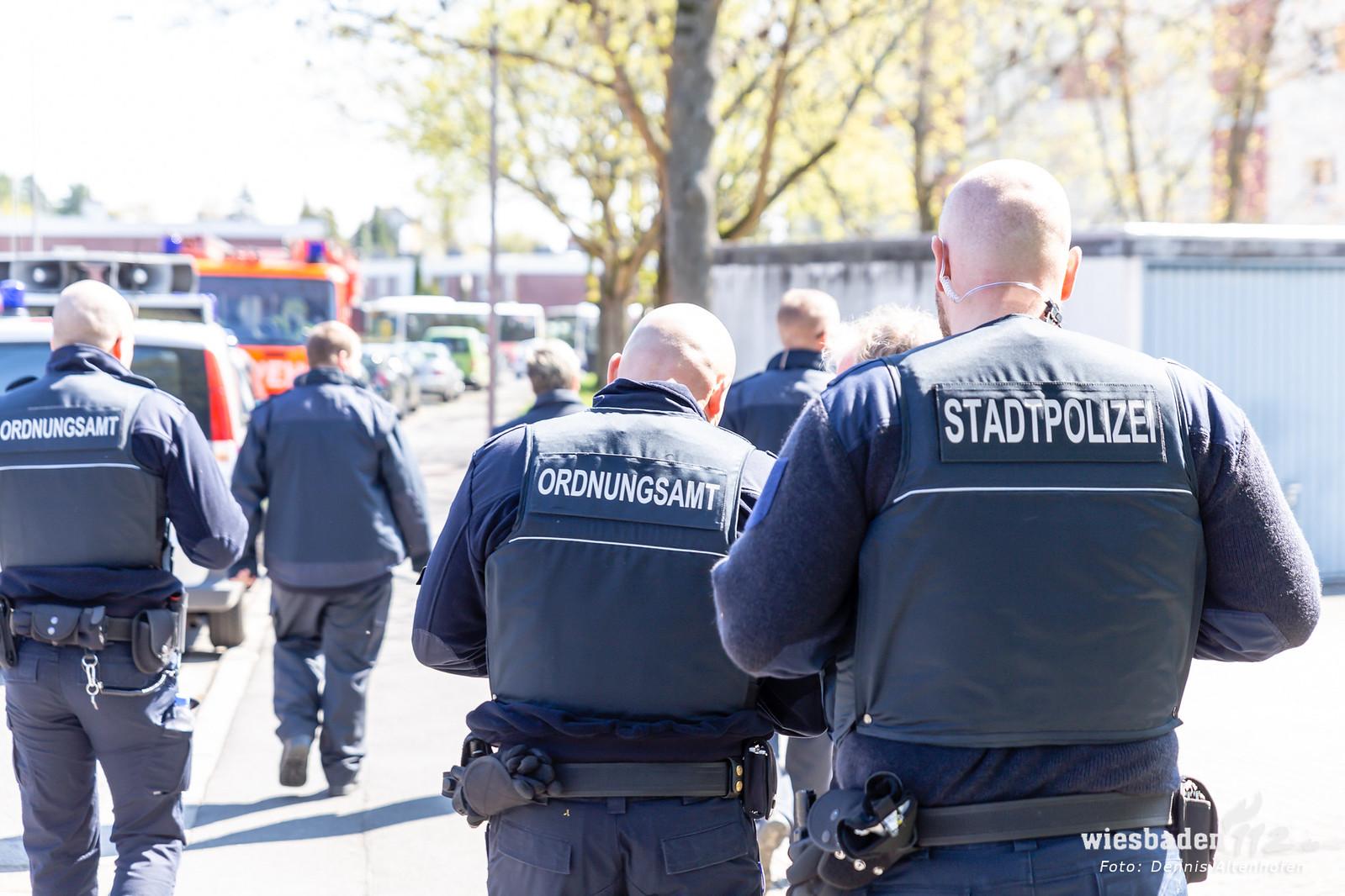 Bombenfund in Wiesbaden-Bierstadt 11.04.19