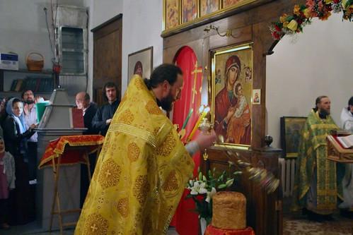Пасхальное Богослужение в Свято-Никольском храме станицы Кавказской IMG_1279
