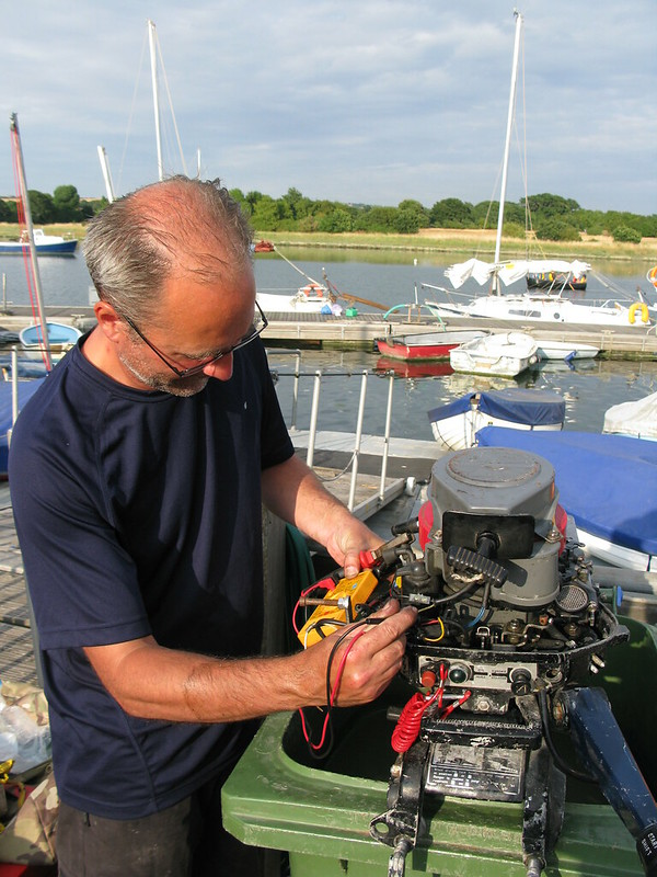 234. Whistle for a wind cruising plans changed - of Tammys outboard -4