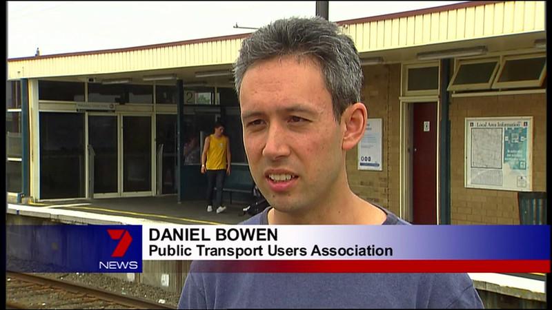 Channel 7 news, Bentleigh station 2/2/2009