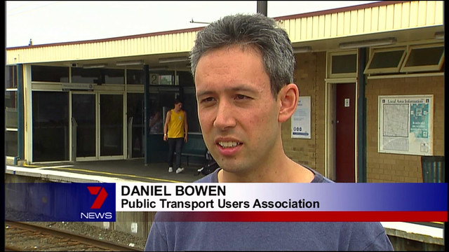 Channel 7 news, Bentleigh station 2/2/2009