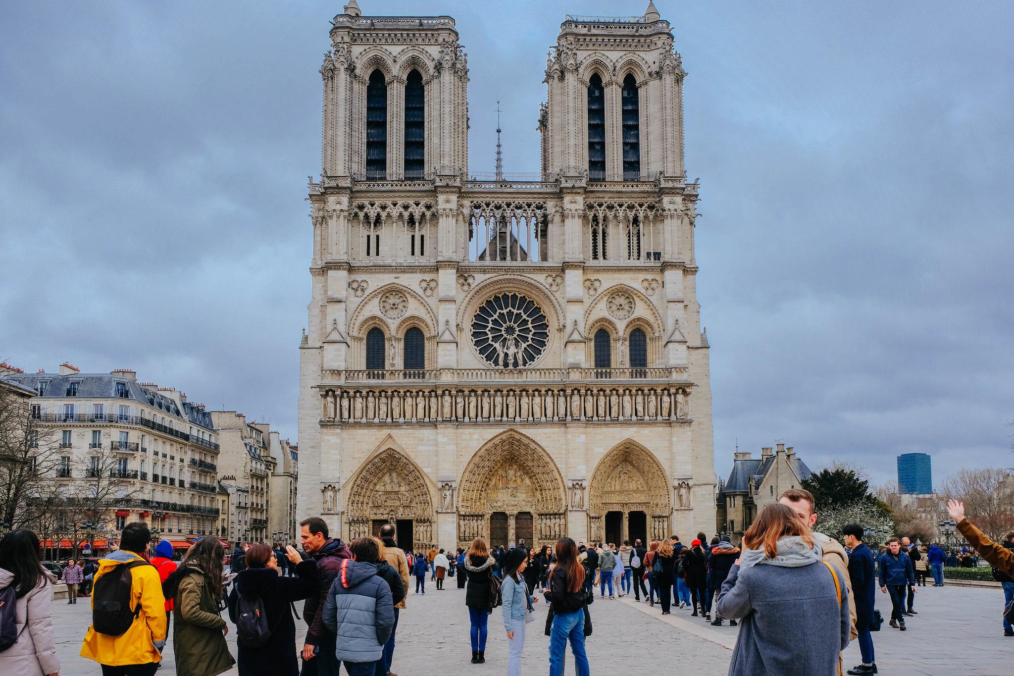 Cathédrale Notre-Dame de Paris, March 2019