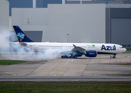 F-WWYP Airbus A330 Neo Azul   by @Eurospot