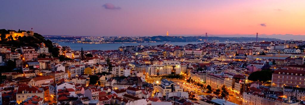 Miradouro Da Nossa Senhora Do Monte Lisboa Junho De 2018 Flickr