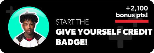 21 Savage Give Yourself Credit Badge