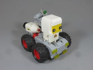 Brickheadz Classic Space Rocket Launcher