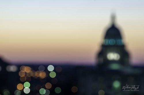 Night Statehouse