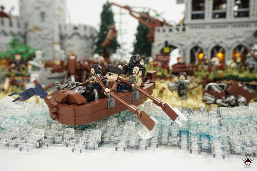 Lond Daer - Bringing war supplies to shore