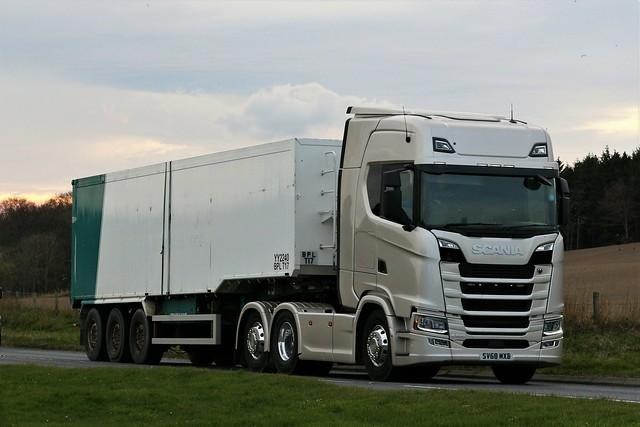 Benzies Scania S500 SV68MXB