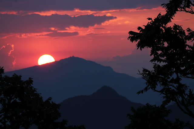 Sunset in the South of Minas Gerais...