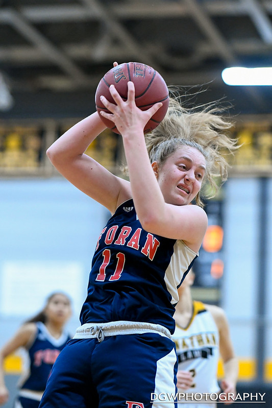 Foran High vs. Jonathan Law - High School Girls Basketball