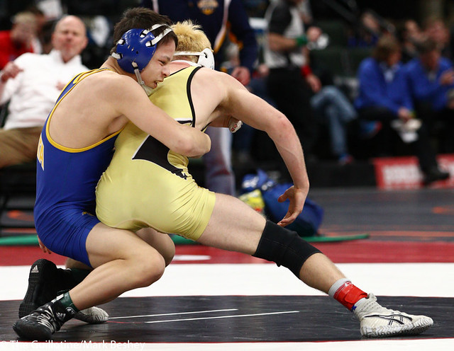 113AAA 5th Place Match - Kyler Wong (Wayzata) 41-10 won by major decision over John Babineau (Andover) 41-11 (MD 14-5) - 190302cmk0024