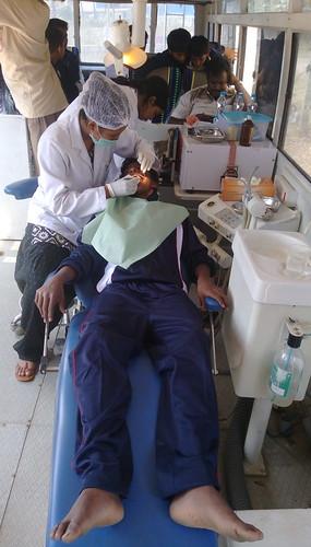 Dental treatments during @tcfindia program