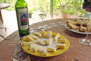 Wine, cheese, and sponge cake at Los Berrazales, Gran Canaria | by BuzzTrips