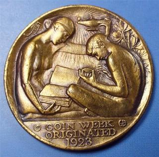 JMS Guttag Coin Week 1923 obv   by Numismatic Bibliomania Society