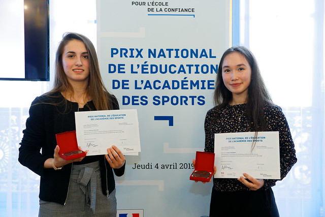 Le Prix de l'éducation de l'Académie des sports