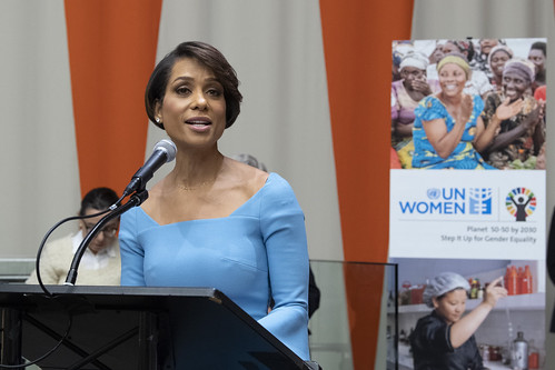 """Observance of International Women's Day on Theme """"Think Equal, Build Smart, Innovate for Change""""   by United Nations Photo"""