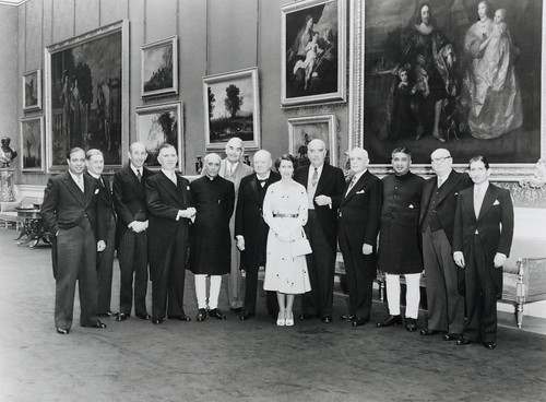 HM Queen Elizabeth II with Commonwealth leaders at the 1953 Commonwealth Prime Ministers Meeting in London 3-9 June 1953 | by Commonwealth Secretariat