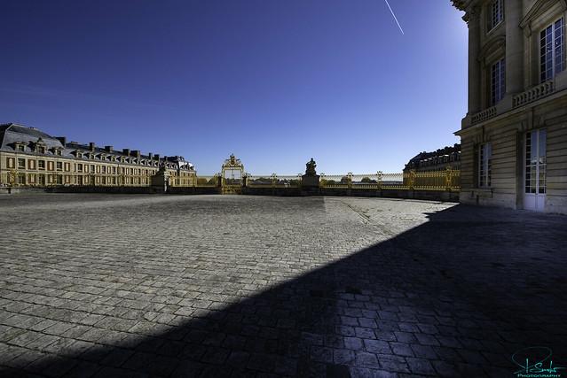 Place D'Armes Château De Versailles - Versailles - France