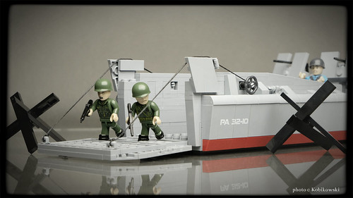COBI 4813 LCVP - Higgins boat