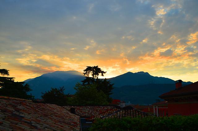 Riva del Garda - Fiery Sunrise