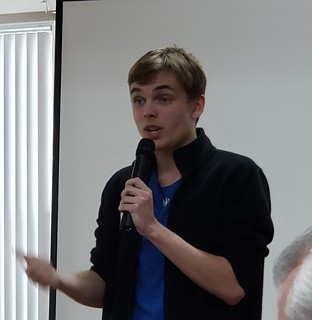 Adam Zawierucha delivers 4-Way Speeh | by Eugene Southtowne Rotary