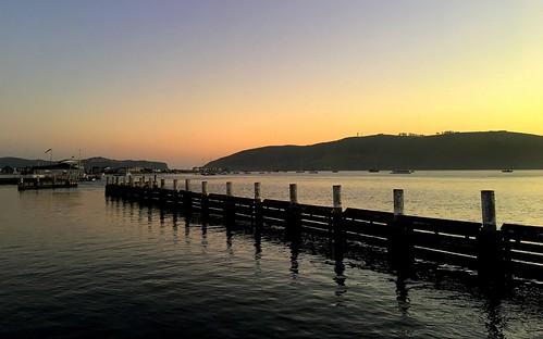 knysna lagoon knysnalagoon westerncape southafrica za sunset dusk evening coast ocean sea seascape landscape scenery eveninglight gardenroute iphone peterch51