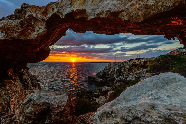 Sunrise at Korakas
