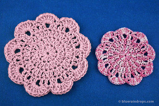 Crochet Easy Round Motif | by elsa.blueraindrops