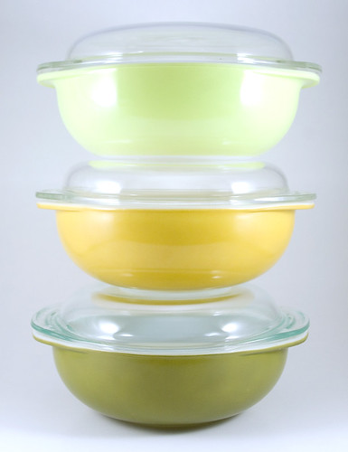 1960's Pyrex Casserole Dishes | by owntwohands
