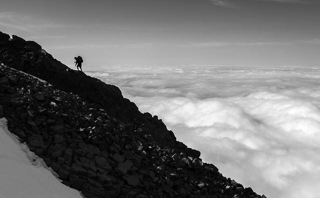 Climbing Ruapehu