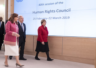 Opening of 40th Session of Human Rights Council | by United Nations Photo
