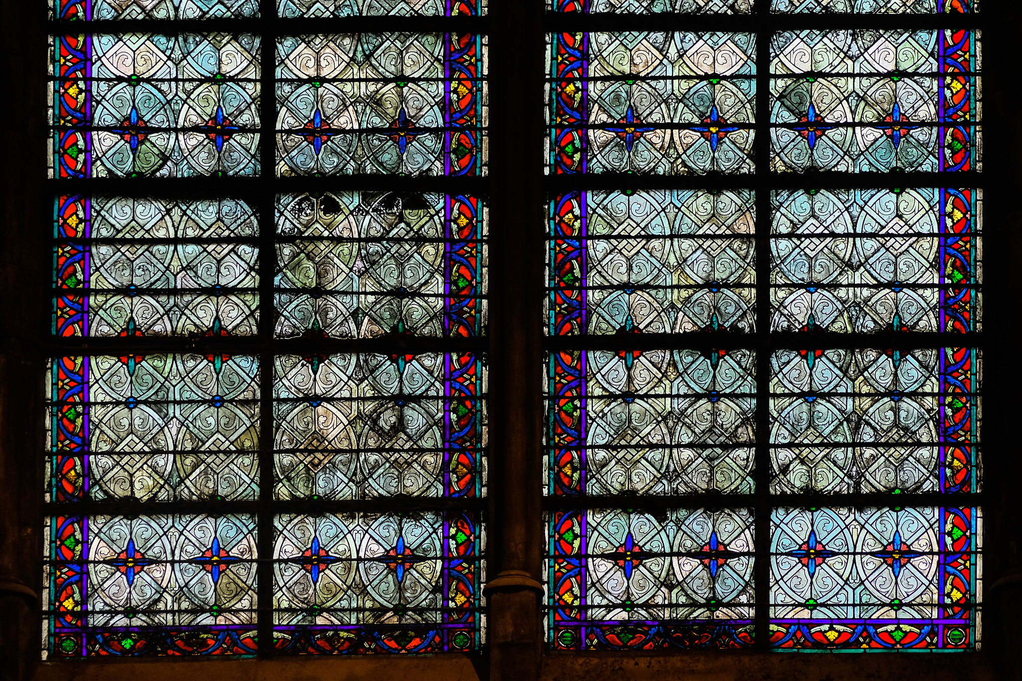 Windows of Notre-Dame : )