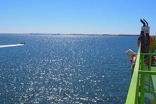 Ferry to Troia Peninsula, Setubal, Portugal | by BuzzTrips