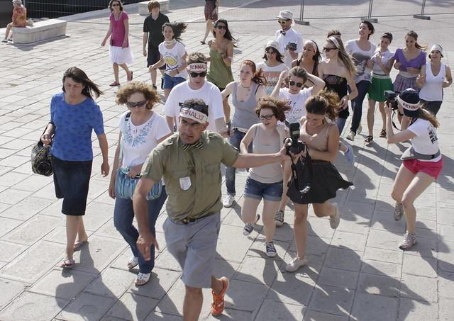 Critical Run @ Venice Biennale  / art format  Run and Debate about EMERGENCIES