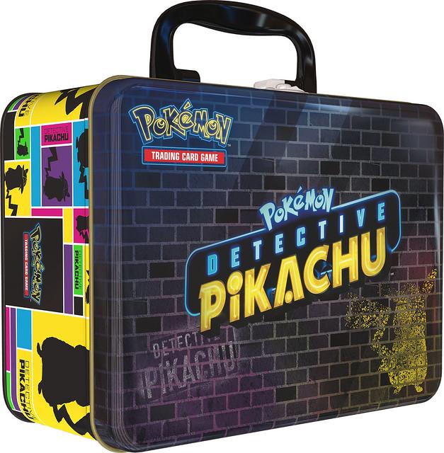 POKEMON Detective Pikachu Collectors Chest