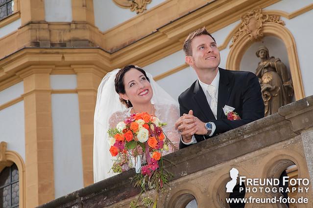 Brautpaar Hochzeit mit Hochzeitsfotografen in Nürnberg