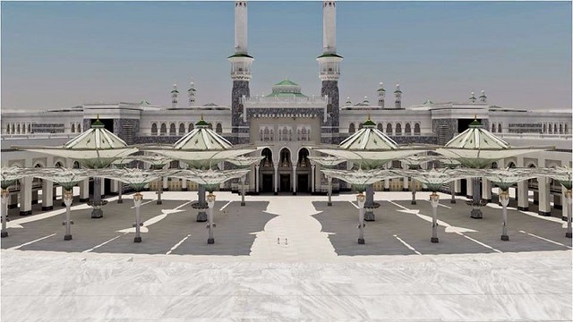 2573 12 Interesting Facts about the World's Largest Umbrella to be installed in Masjid al Haram 04