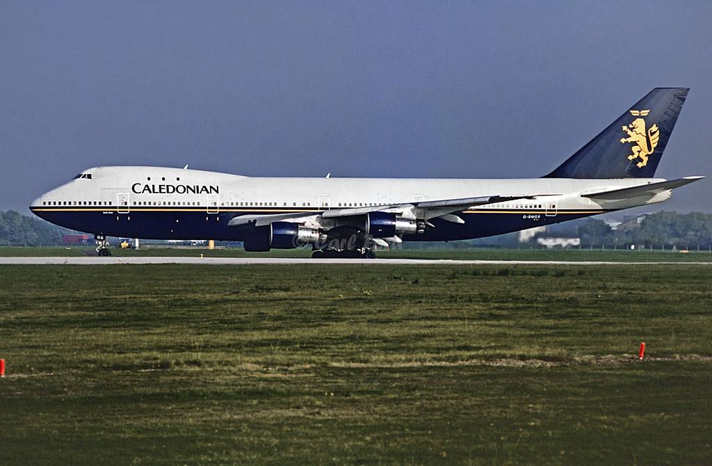 Boeing 747-283B G-BMGS