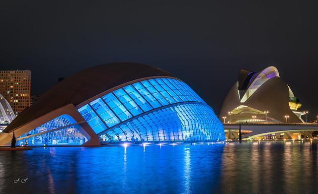 CAC Valencia - Hemisferic y Palau de les Arts Reina Sofía