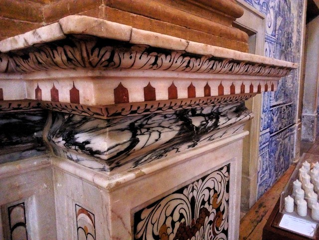 More inlaid marble like I saw in Beja by bryandkeith on flickr