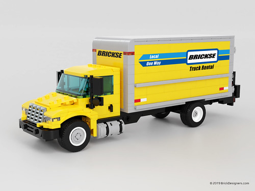 Large Moving Truck