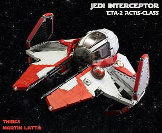 UCS Jedi starfighter - Eta-2 Actis-class interceptor | by thire5