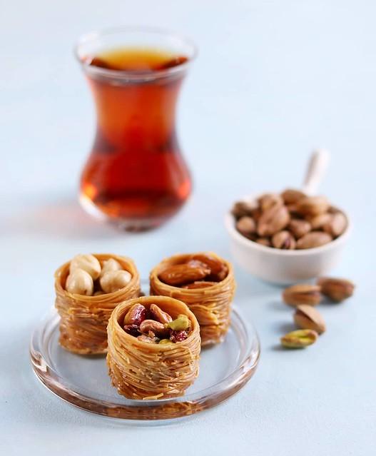 Turkish dessert padişah dolması
