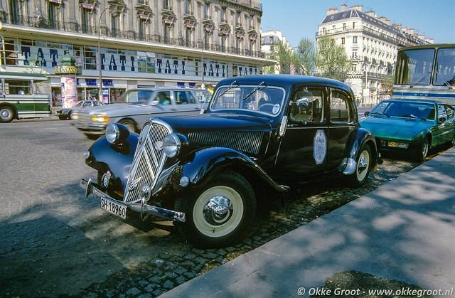 Parijs, april 1984