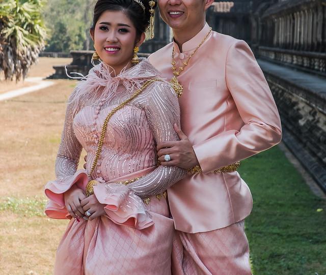 Couple portait - Angkor wat,Cambodia